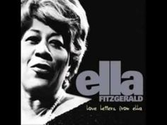 This needs to be my wedding song. Ella Fitzgerald - Stairway To The Stars