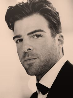 Zachary Quinto. Him and Eli Roth need to play brothers in a movie, seriously.