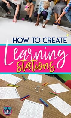 How to Create Learning Stations with Movement, Engagement, and Differentiation | Reading and Writing
