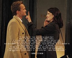 Barney e Robin Robin Scherbatsky, Barney Quotes, Barney Stinson Quotes, Barney And Robin, How Met Your Mother, Best Series, Tv Series, Thank You Mom, Dead To Me
