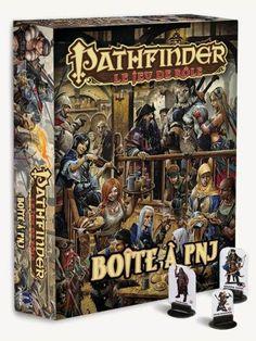 PATHFINDER LE JEU DE ROLE: BOITE A PNJ