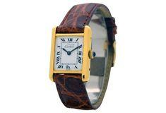 1980s Cartier Tank Must de Ladies Watch