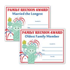 Blank award certificate template for word chose from for Free family reunion certificates templates