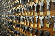 Hardware Store in Wilkinsburg, PA. More keys. I love rows of similar objects.