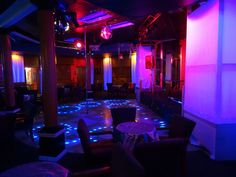 Club Princeton dance floor
