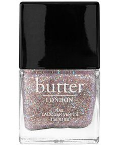 We just fell in love with this sparkly shade! butter LONDON nail polsih in Tart with a Heart
