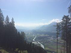 Wunderbare Aussicht auf das Inntal