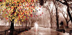 Autumn tree - Bizart Galleries