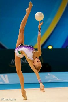 My favourite rhythmic gymnast from Russia I even have her as my screen saver on my iPad