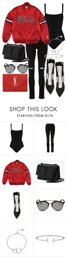 """Untitled #22022"" by florencia95 ❤ liked on Polyvore featuring Matteau, Yves Saint Laurent, Puma, Christian Dior and Chupi"