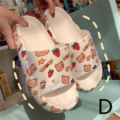 Harajuku Fashion, Japan Fashion, Harajuku Style, Bear Cartoon, Cute Cartoon, Matching Socks, Wedding Shoes Bride, Cute Slippers, Styles P