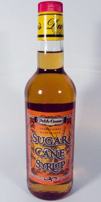 Martinique Sugar Cane Syrup . . . Ti Punch time.