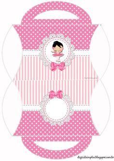 "Custom Theme Kit ""Ballerina Rose"" for Print - Simple Digital Invitations Box Templates Printable Free, Paper Box Template, Ballet Kids, Ballerina Birthday, Butterfly Party, Diy Gift Box, Bday Girl, Nutcracker Christmas, Baby Scrapbook"