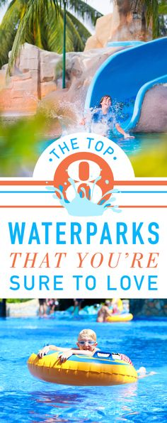 We're showing you the best waterpark resorts in the Caribbean! Take a plunge down a 280 foot water slide, or unwind in a lazy river in Jamaica. The fun is limitless! All Inclusive Family Resorts, Family Of 5, Water Parks, Water Slides, Letting Go, Caribbean, River, Vacation, How To Plan