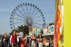 Ferris Wheel at the Canstatter Wasn Beer Festival in Stuttgart
