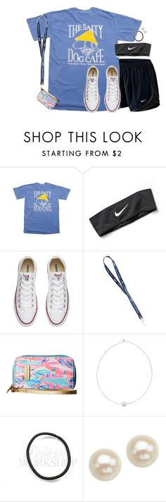 """Literally just made this set but I'm wearing this at the Friday night hs game"" by aweaver-2 on Polyvore featuring NIKE, Converse, Lilly Pulitzer, Shop Latitude Bazaar and Honora"
