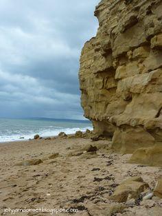 Burton Bradstock beach, Dorset.