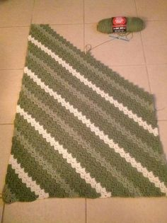 Crochet corner to corner