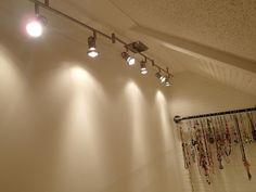 Closet Lighting Looks Like Track Lighting But Half The Cost!
