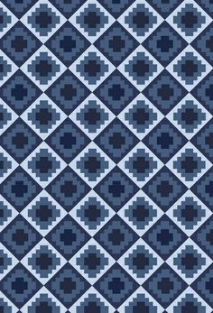 Blue Quilt. by Jake Williams