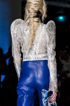 Jean Paul Gaultier at Couture Spring 2017 (Details)
