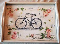 modelo para decorar con bicicletas.