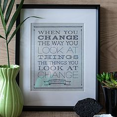 Framable Printable Quotes about Change