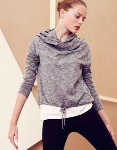 Top with hood - OYSHO - Lingerie, Sleepwear & Loungewear - amzn.to/2ieOApL Lingerie, Sleepwear & Loungewear - amzn.to/2ij6tqw Clothing, Shoes & Jewelry - Women - Lingerie, Sleepwear & Loungewear - http://amzn.to/2kMZiFM