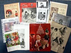 *Viele vintage Anleitungen*Schnittmuster*Schnitte*Häkeln*Käthe Kruse*Puppen* in Möbel & Wohnen, Hobby & Künstlerbedarf, Häkeln & Stricken   eBay