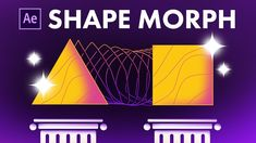 Quick & Easy After Effects Shape Morph Tutorial Adobe After Effects Tutorials, After Effects Intro, Motion Design, Design Thinking, Learn Animation, After Effect Tutorial, Animation Tutorial, 3d Tutorial, Cool Animations