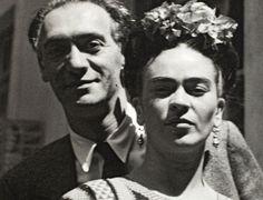 Nickolas Muray e Frida Kahlo, por Nickolas Muray, 1949.