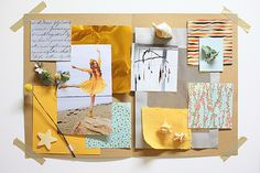 Mood board by Sarah. Define Your Signature Style Workshop, London