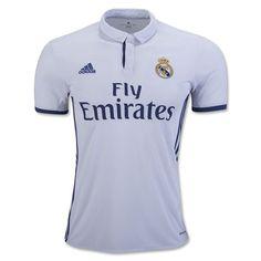 504109dd8222f adidas Kids Real Madrid 16 17 Home Jersey Crystal White Raw Purple