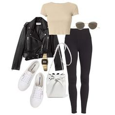 Top Clothing Choices For A Stunning New Look. Are you searching for ways you can look more fashionable? Everyday Casual Outfits, Simple Outfits, Cute Outfits, Beautiful Outfits, Girly Outfits, Trendy Outfits, Autumn Street Style, College Outfits, School Fashion