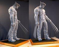 Wolverine maquette by MarkNewman.deviantart.com on @deviantART