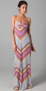 Fun print, love maxi dresses for summer.