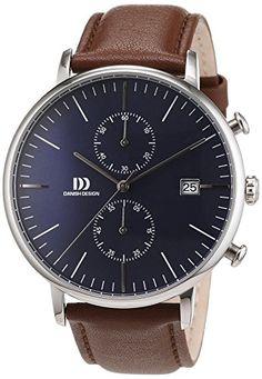 Danish Design Herren-Armbanduhr Analog Quarz Leder 3314506 - http://uhr.haus/danish-design/danish-design-herren-armbanduhr-analog-quarz-6