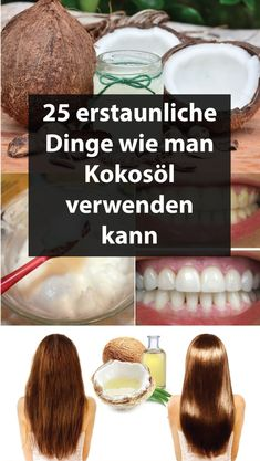 25 amazing things on how to use coconut oil Makeup Tips, Beauty Makeup, Hair Beauty, Beauty Secrets, Beauty Hacks, Teeth Care, Hair Care Routine, Oral Hygiene, Food Design