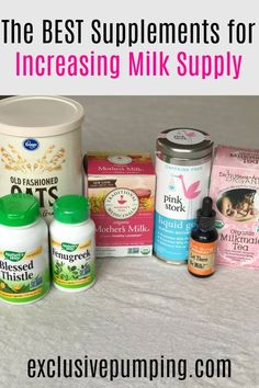 Fenugreek, nursing teas, tinctures, blessed thistle - what are the best supplements to increase milk supply, and do they actually work? Smoothies, Tire Lait, Blessed Thistle, Breastfeeding Foods, Breastfeeding Supplements, Fenugreek Breastfeeding, Breastfeeding Smoothie, Increase Milk Supply, Boost Milk Supply