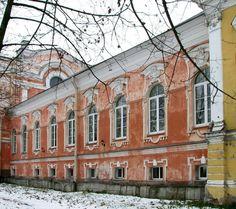 Réfectoire du Monastère - Monastère de la Sainte Trinité Saint Serge - Strelna - Construit en 1834 par l'Architecte Anatoly Petrovitch Makarov.