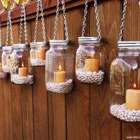 hanging jar lamps