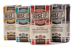 Rise Up Coffee on Packaging of the World - Creative Package Design Gallery