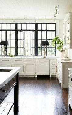 black and white kitchen ideas and designs black trim window trim & Andersen 400 Series Casement Window | florida house | Pinterest ... Pezcame.Com