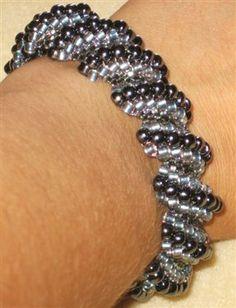 Flat Cellini Spiral Bracelet - Media - Beading Daily
