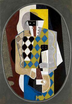 Pierrot by Gino Severini