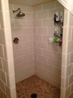 Glazed Tile Basement Bathroom Basement Ideas Basement