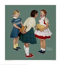 norman rockwell images | Norman Rockwell Glicee Prints