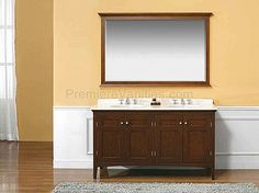 Modern Vanities   Single Bathroom Vanities   Brown Mahogany Double Sink Bathroom  Vanity