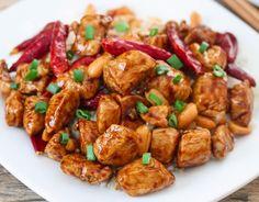 Chicken Kung-Pao PoW! (Dairy & Gluten-Free)