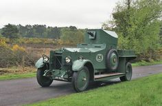 Rolls-Royce Silver Ghost Armored Car 1920 | ROLLS-ROYCE ...